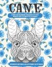 Libri da colorare per adulti per donne con le matite in mano - Disegni animali alleviare lo stress - Animali - Cane Cover Image