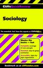 CliffsQuickReview Sociology Cover Image