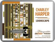 Charley Harper: Loonscape 100-Piece Jigsaw Puzzle Cover Image