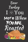 I Love You More When You Are Roasted: Thanksgiving Notebook - There isn't a Better Way to Start the Day or go to Bed than Thinking About Everything Yo Cover Image