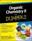 Organic Chemistry II for Dummies Cover Image