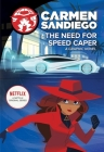 The Need for Speed Caper (Carmen Sandiego Graphic Novels) Cover Image