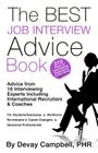 The BEST Job Interview Advice Book Cover Image