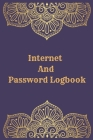 Internet And Password Logbook: Vol 10 Password Keeper Notebook Organizer Small Notebook For Passwords Journal Username and Password Notebooks Logbook Cover Image