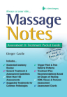 Massage Notes: A Pocket Guide to Assessment & Treatment (Fa Davis's Notes Book) Cover Image