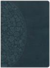 Holman Study Bible: NKJV Large Print Edition Dark Teal LeatherTouch Cover Image