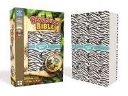 Niv, Adventure Bible, Leathersoft, Zebra Print, Full Color Interior Cover Image