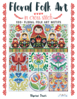 Floral Folk Art in Cross Stitch Cover Image