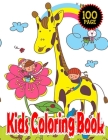 Kids Coloring Book: Fun with Super Hero, Unicorn, Micky Mouse, Animals & More- Easy, and Relaxing Coloring Pages-100 Page-Age 4-12 Cover Image