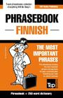 English-Finnish phrasebook and 250-word mini dictionary Cover Image
