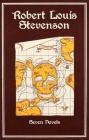 Robert Louis Stevenson: Seven Novels (Leather-bound Classics) Cover Image