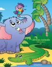 African Animals Coloring Book 3 Cover Image