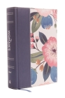 NIV, the Woman's Study Bible, Cloth Over Board, Blue Floral, Full-Color: Receiving God's Truth for Balance, Hope, and Transformation Cover Image