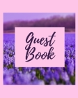 Guest Book - Lavender Field Cover Image