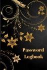 Internet Password Logbook Cover Image