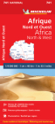 Michelin Africa North & West (Michelin Maps #741) Cover Image