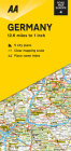 Road Map Germany (Road Map Europe) Cover Image