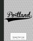 Hexagon Paper Large: PORTLAND Notebook Cover Image