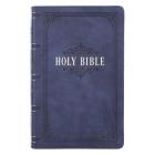 KJV Bible Giant Print Dark Blue Cover Image