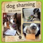 Dog Shaming 2018 Wall Calendar Cover Image