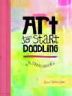 Art to Start Doodling: A Sketchbook Cover Image