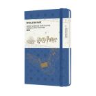 Moleskine 2022 Harry Potter Weekly Planner, 12M, Pocket, Antwerp Blue, Hard Cover (3.5 x 5.5) Cover Image