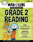Mad Libs Workbook: Grade 2 Reading (Mad Libs Workbooks) Cover Image