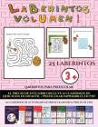 Laberintos para preescolar (Laberintos - Volumen 1): (25 fichas imprimibles con laberintos a todo color para niños de preescolar/infantil) Cover Image