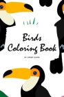 Birds Coloring Book for Children (6x9 Coloring Book / Activity Book) Cover Image