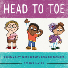 Head to Toe: A Human Body Parts Activity Book for Toddlers Cover Image