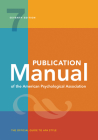 Publication Manual of the American Psychological Association: 7th Edition, 2020 Copyright Cover Image