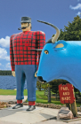 Paul Bunyan and Babe Blank Journal (Nodin Press Blank Journals) Cover Image