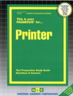 Printer: Passbooks Study Guide (Career Examination Series) Cover Image