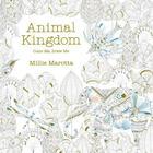 Animal Kingdom: Color Me, Draw Me Cover Image
