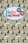 Baby Logbook: Baby Daily Logbook, Baby Tracker For Twins, Baby Log Book Twins, Sleep Tracker Baby, Cute Paris & Music Cover, 6 x 9 Cover Image