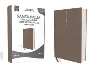 Nbla Santa Biblia, Una Columna Con Referencias, Letra Grande, Tapa Dura/Tela, Gris, Edición Letra Roja Cover Image