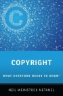 Copyright: What Everyone Needs to Know(r) Cover Image