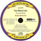Too Many Cats / Demasiados Gatos ( We Both Read Audio Spanish / English Level K) (We Both Read Bilingual) Cover Image