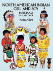 North American Indian Girl and Boy Paper Dolls (Dover Paper Dolls) Cover Image
