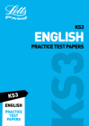 KS3 English Practice Test Papers (Letts KS3 Revision Success) Cover Image