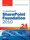 Sams Teach Yourself SharePoint Foundation 2010 in 24 Hours Cover Image