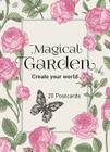 Magical Garden - 20 Postcards: Create Your World Cover Image