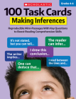 100 Task Cards: Making Inferences: Reproducible Mini-Passages With Key Questions to Boost Reading Comprehension Skills Cover Image