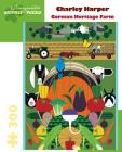 Charley Harper Gorman Heritage Farm 300 Piece Jigsaw Puzzle Cover Image