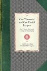 One Thousand and One Useful Recipes (Cooking in America) Cover Image