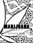 Marijuana Adult Coloring Book Cover Image