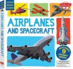 Airplanes and Spacecraft: Includes 9 Chunky Books (Look, Read, Learn) Cover Image