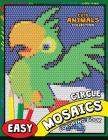 Circle Mosaics Coloring Book: Cute Animals Coloring Pages Color by Number Puzzle Cover Image