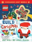 LEGO(R) Iconic: Build Christmas Fun! (Activity Book with Minifigure) Cover Image