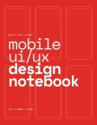 Mobile UI/UX Design Notebook: (Red) User Interface & User Experience Design Sketchbook for App Designers and Developers - 8.5 x 11 / 120 Pages / Dot Cover Image